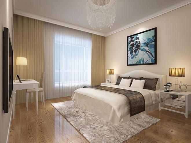 现代三居卧室图片大全