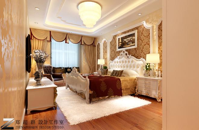 欧式古典二居卧室装修效果图大全2015图片