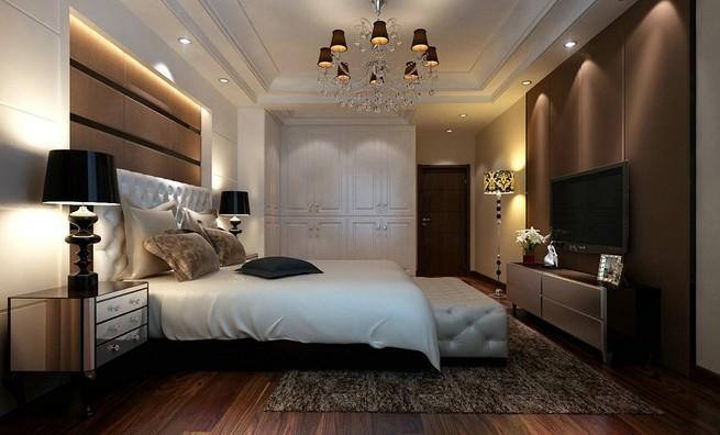 现代别墅卧室图片大全