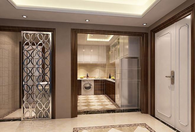 欧式古典二居厨房装修效果图大全2015图片