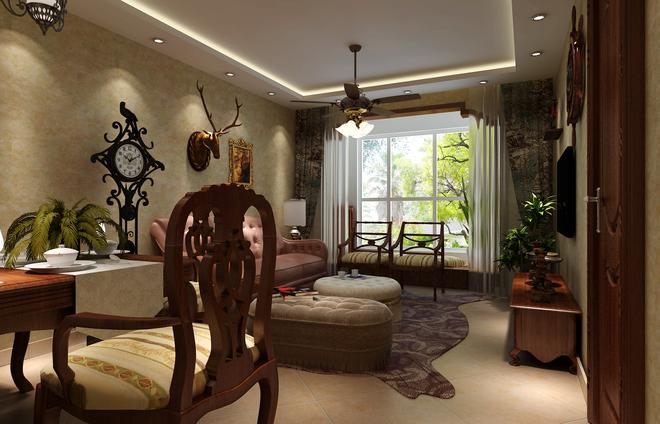 梧桐苑80平米二居装修效果图大全2015图片 搜狐焦点家居装修网