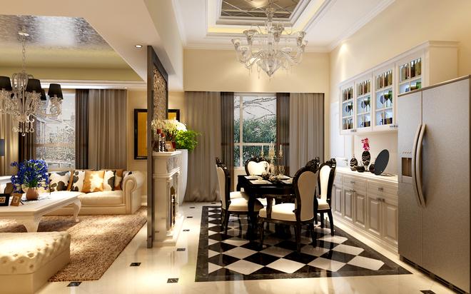 号院146平米复式装修效果图欣赏 搜狐焦点家居装修网