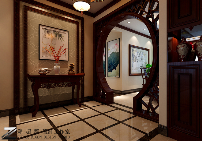 领秀翡翠山172平米三居装修效果图欣赏 搜狐焦点家居装修网 -领秀翡