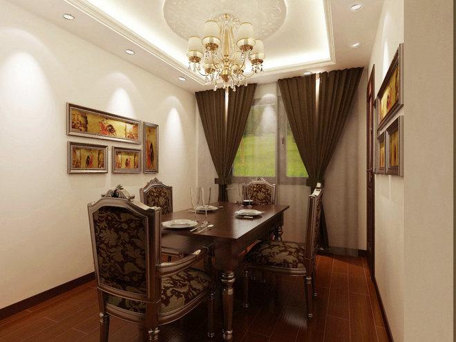京贸国际公寓98平米二居装修效果图 搜狐焦点家居装修网