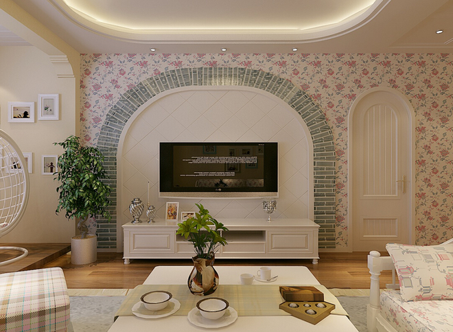 城建 世华龙樾94平米三居装修效果图大全2015图片 搜狐焦点家居装